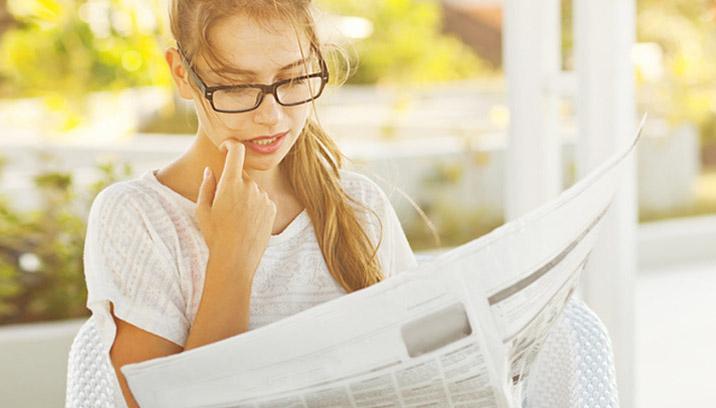 maak je eigen krant