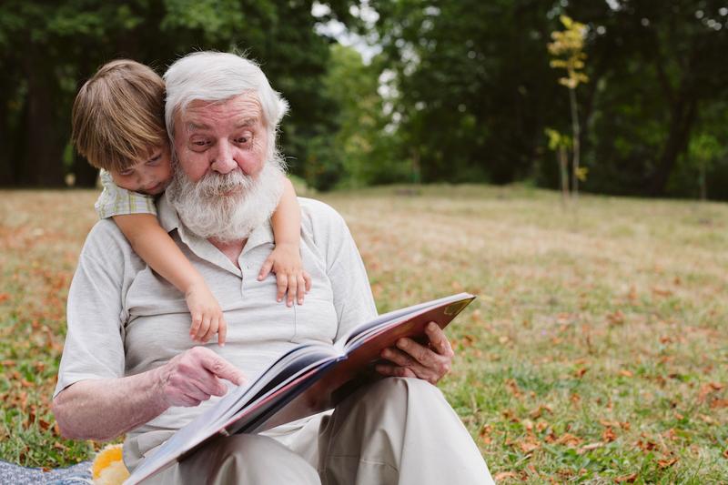 Créez votre propre journal pour vos grand-parents - Happiedays