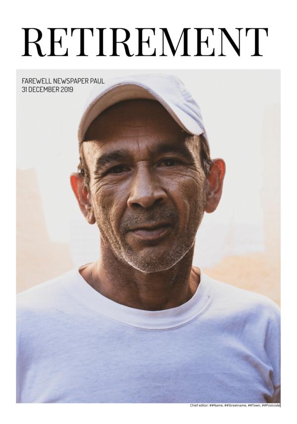 make a newspaper newspaper template retirement - happiedays